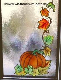 Window Color Kürbis