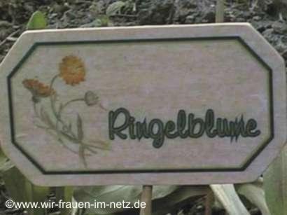 Blumenstecker Ringelblume