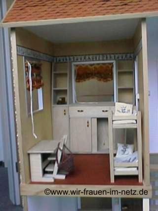 Kinderzimmer im Barbie Haus