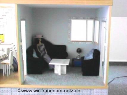 Wohnzimmer im Barbiehaus