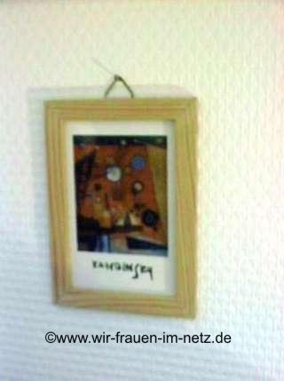 Bilderrahmen mit Kandinsky