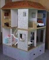 Puppenhaus für Barbie