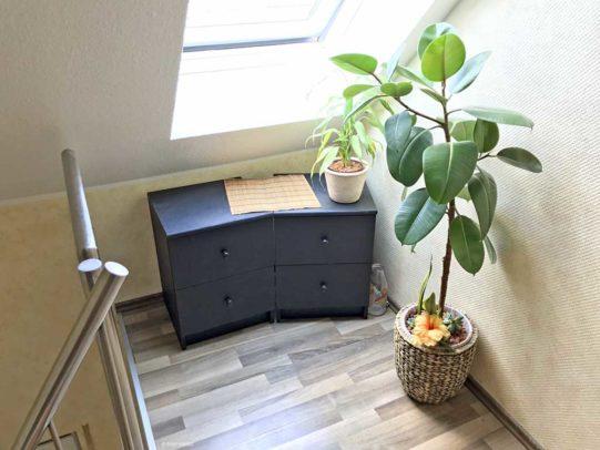 Flurecke mit Ikea Kommoden