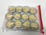 Muffin Rohlinge Gefrierbeutel